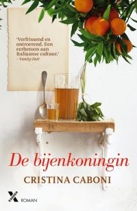 Boek De Bijenkoningin van schrijve Cristina Caboni