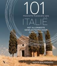 Boek 101 mooiste plekken van Italie van schrijver Saskia Balmaeker