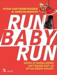 Boek Run Baby Run van schrijver Nydia van Voorthuizen en Hans Nijenhuis