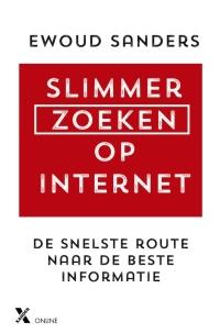 Boek Slimmer zoeken op internet van schrijver Ewoud Sanders